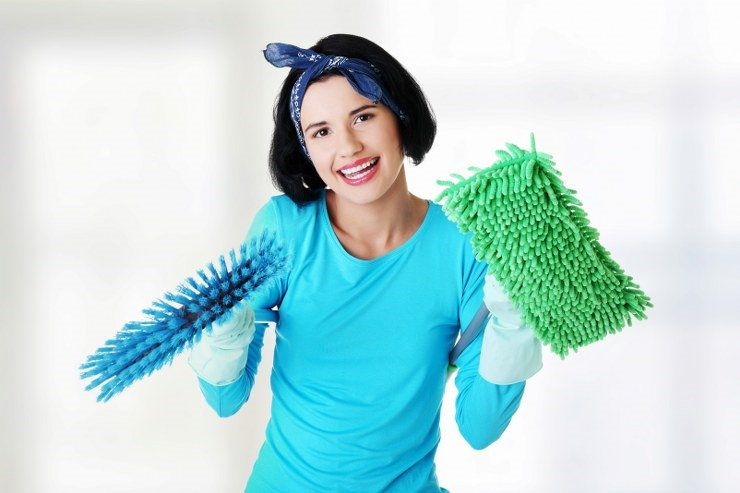 home cleaning tasks