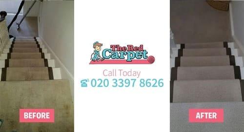 Carpet Cleaning before-after Old Malden KT4
