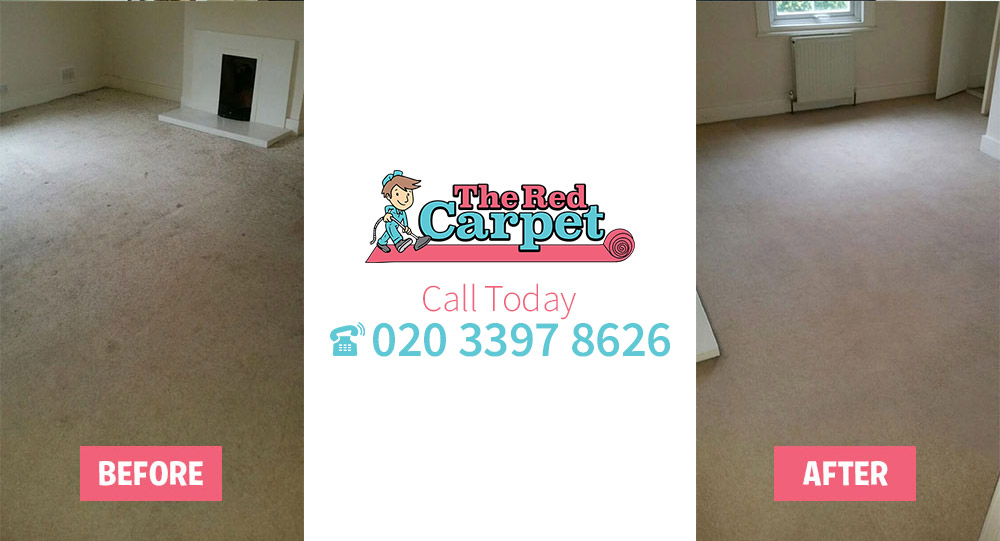 Carpet Cleaning before-after Surrey Quays SE16