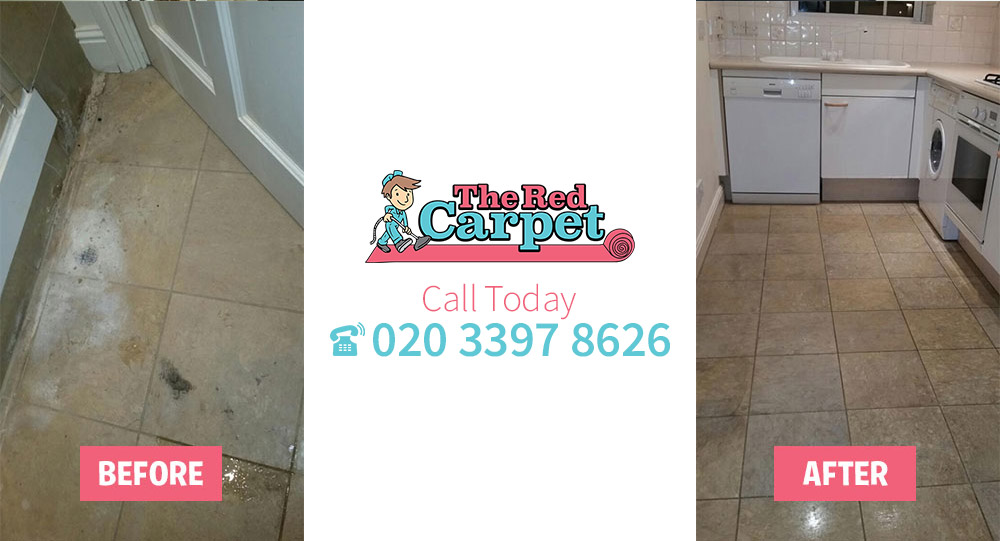 Carpet Cleaning before-after West Green N15
