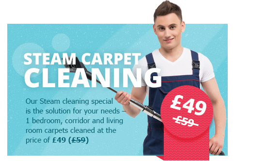Great Deals on Steam Carpet Cleaning