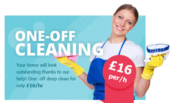 One-off Cleaning at the Lowest Prices