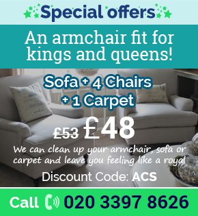 Limited Time Offer for Carpet Clean London