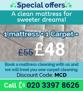Discounts on Carpet Cleaning in London